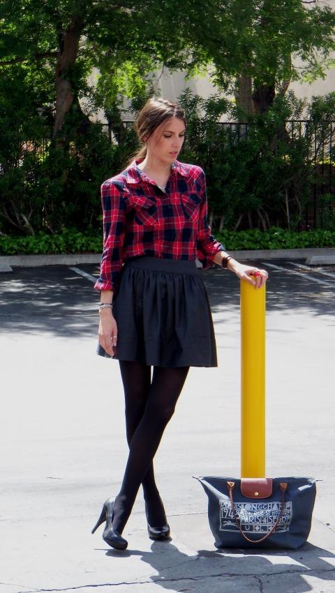 Plaid Shirt Outfit